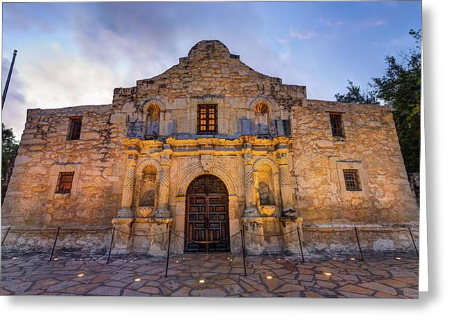 Greeting Card featuring the photograph The Alamo - San Antonio Texas by Gregory Ballos