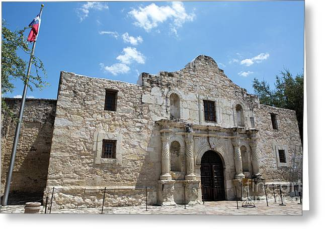 The Alamo Texas Greeting Card