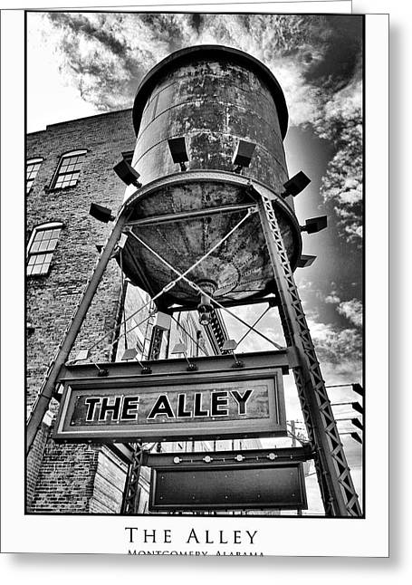 Greeting Card featuring the digital art The Alley  by Greg Sharpe