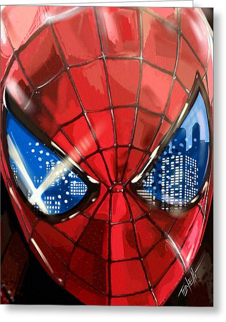 The Amazing Spider-man... Greeting Card
