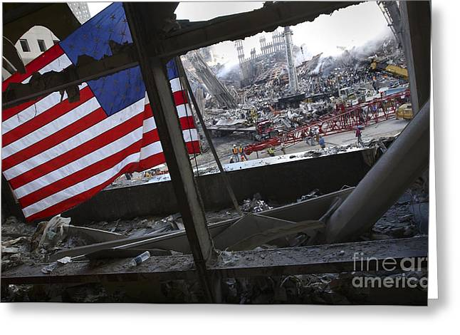 The American Flag Is Prominent Amongst Greeting Card by Stocktrek Images