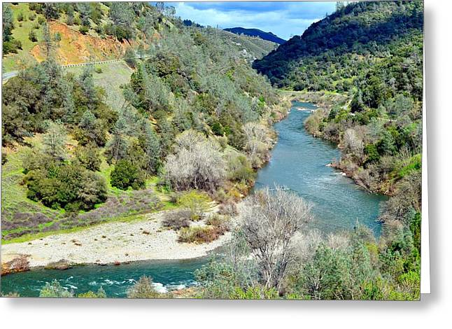 The American River Greeting Card