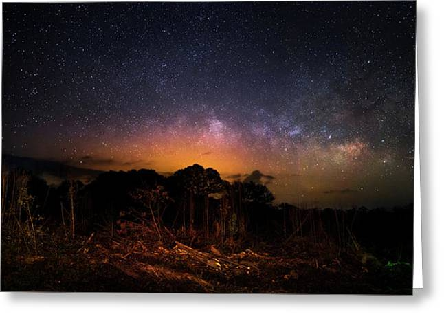 The Ancient Path Greeting Card by Mark Andrew Thomas