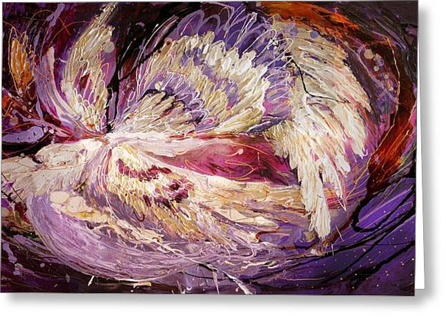 The Angel Wings #8 The Dance Of Spirit Greeting Card