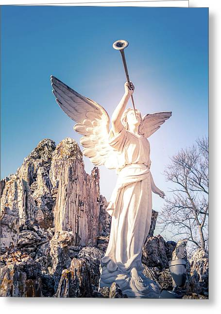 The Angel Greeting Card by Art Spectrum