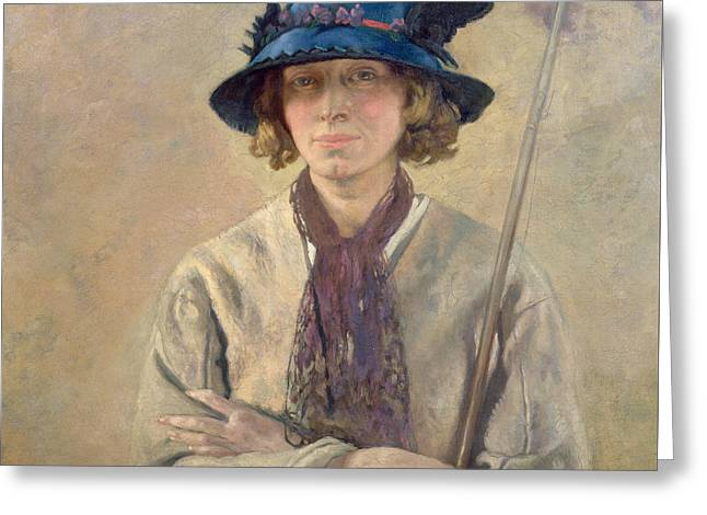 The Angler, 1912 Greeting Card by Sir William Orpen