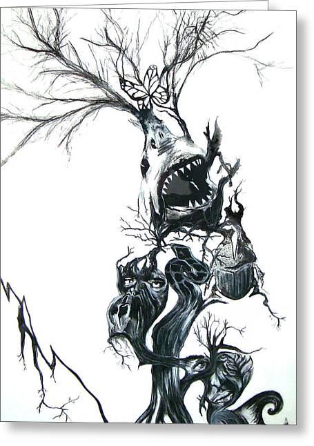 The Animal Tree Greeting Card