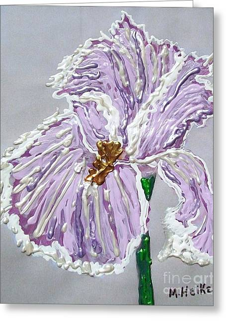 The Anne- Elizebeth Iris Greeting Card