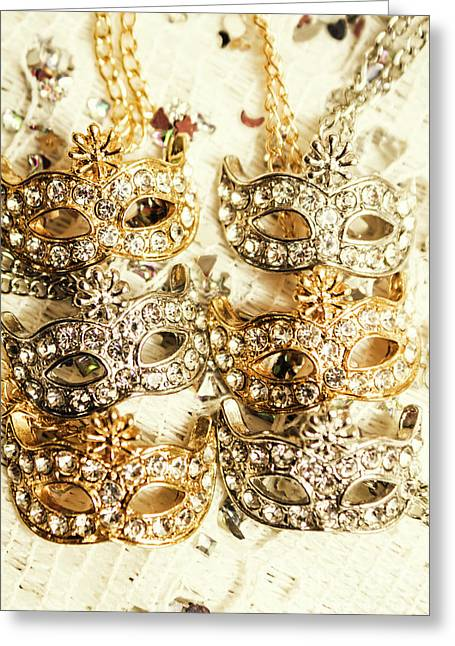 The Antique Jewellery Store Greeting Card by Jorgo Photography - Wall Art Gallery