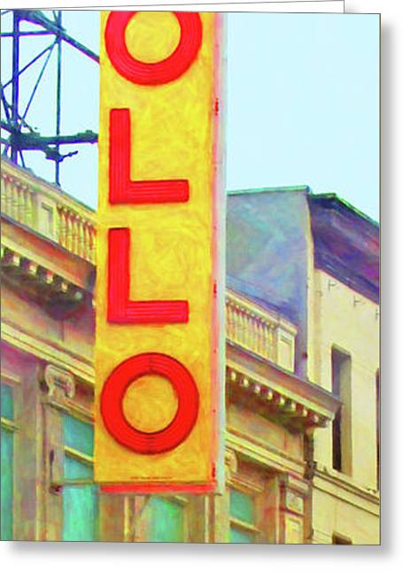 The Apollo Theater In Harlem Neighborhood Of Manhattan New York City 20180501 Greeting Card
