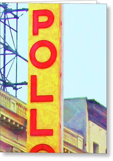 The Apollo Theater In Harlem Neighborhood Of Manhattan New York City 20180501v2 Greeting Card