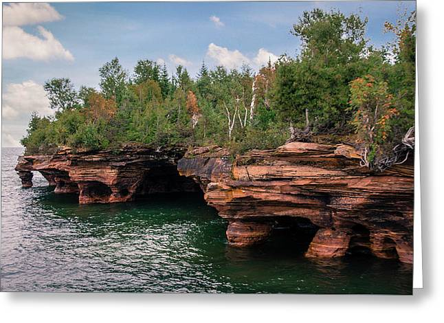 The Apostle Islands Greeting Card