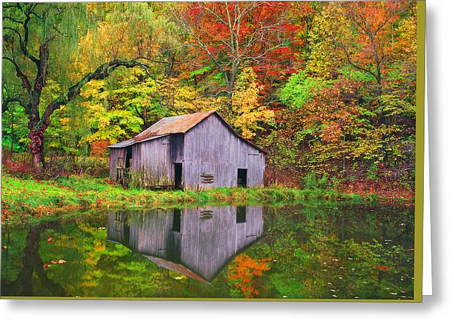 The Appalachian Reflection Greeting Card