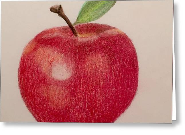 The Apple Greeting Card