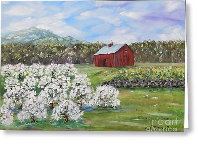The Apple Farm Greeting Card