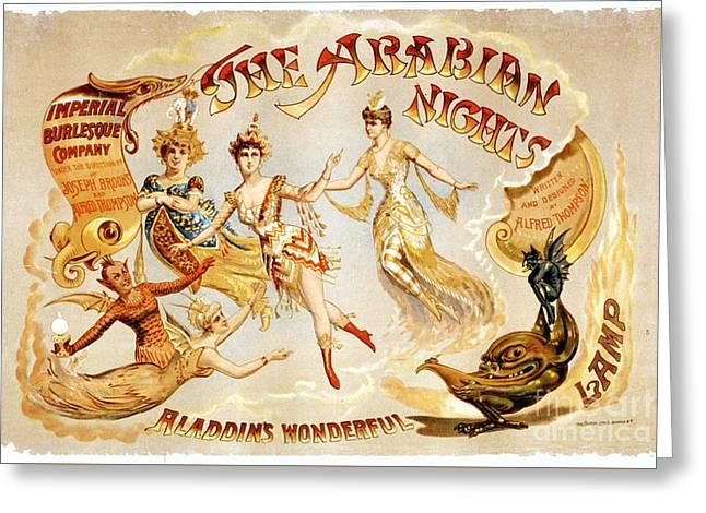 The Arabian Nights Burlesque Greeting Card