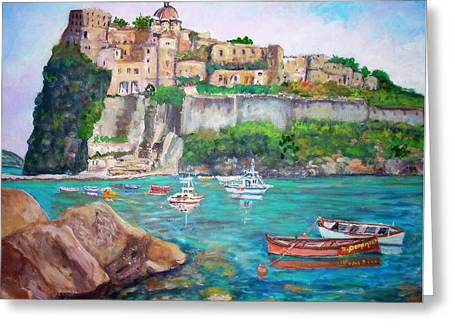 The Aragonese Castle Greeting Card