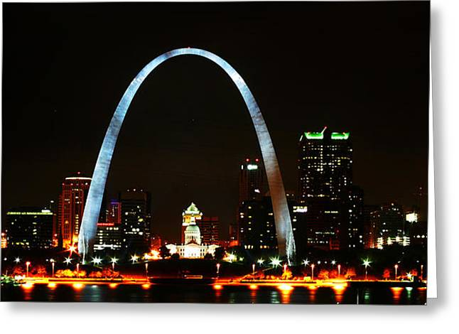 The Arch Greeting Card by Anthony Jones
