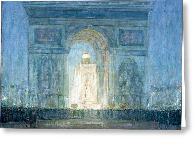 The Arch Greeting Card by Henry Ossawa Tanner