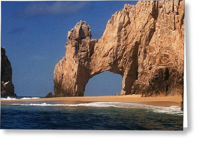 The Arch Greeting Card by Marna Edwards Flavell