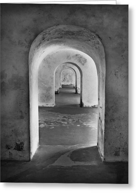 The Arches 2 Greeting Card by Perry Webster