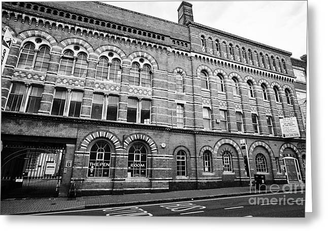 The Argent Centre And The Pen Room Birmingham Uk Greeting Card by Joe Fox
