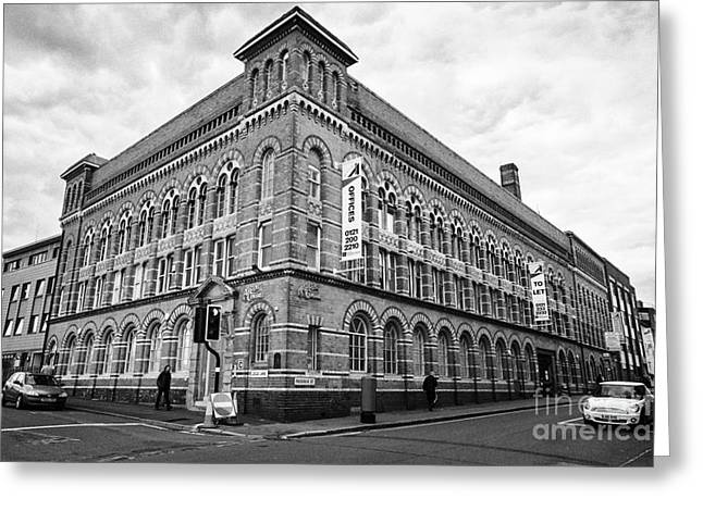 The Argent Centre Frederick Street And Legge Lane Jewellery Quarter Birmingham Uk Greeting Card by Joe Fox