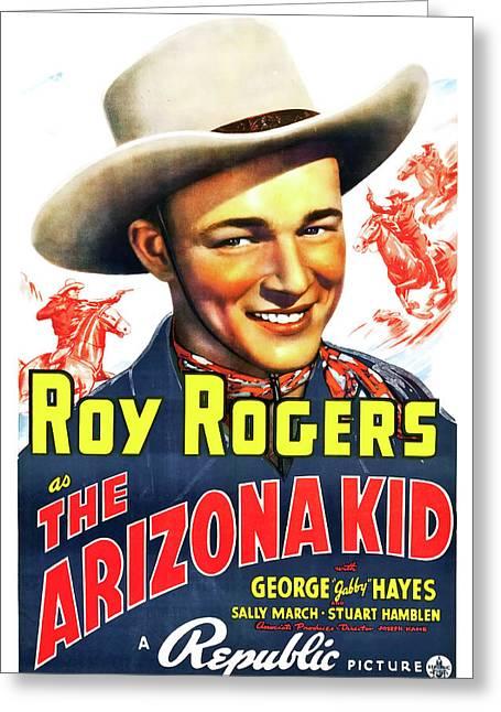 The Arizona Kid 1939 Greeting Card