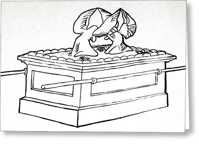 The Ark Of The Covenant Greeting Card by G Cuffia