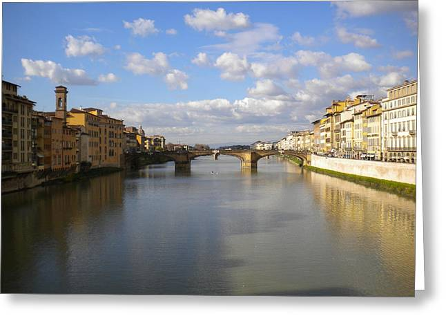 The Arno Greeting Card by Nancy Ferrier