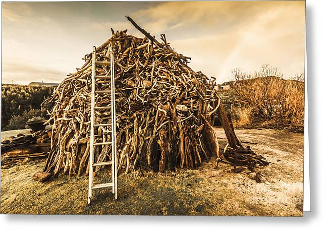 The Art Of Bonfires Greeting Card by Jorgo Photography - Wall Art Gallery