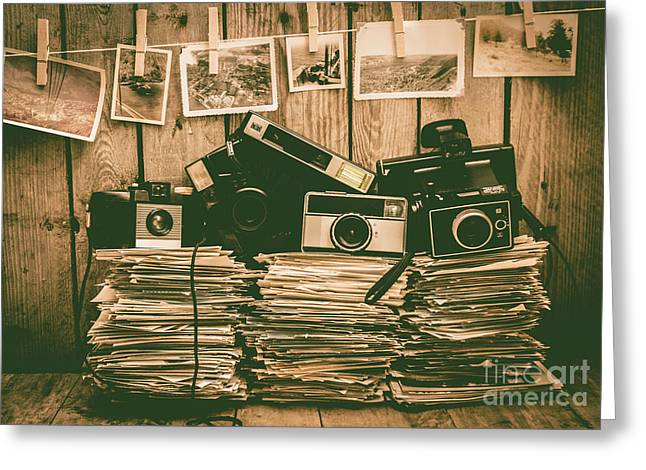 The Art Of Film Photography Greeting Card