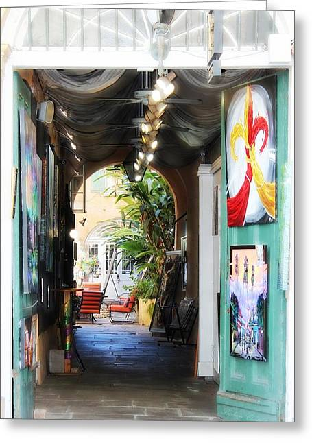 The Art Of New Orleans Greeting Card