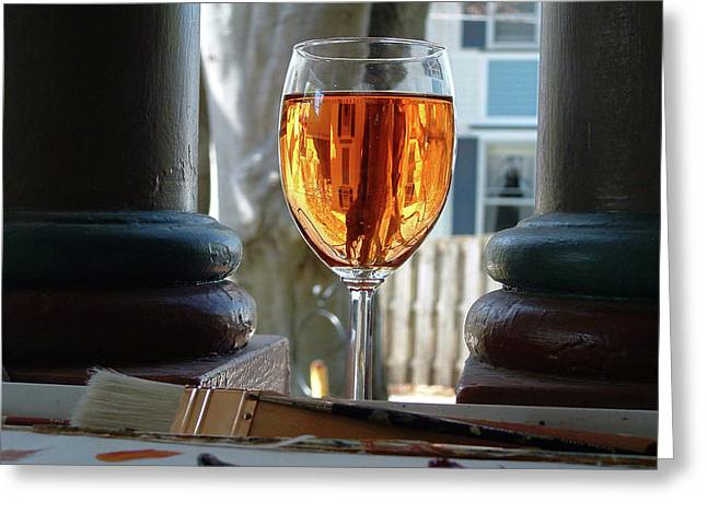 The Art Of Wine Greeting Card