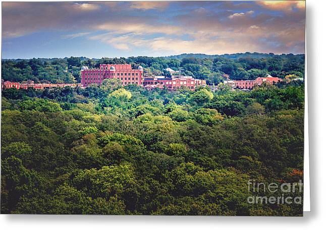 The Artesian Hotel In The Forest In Horizontal Greeting Card