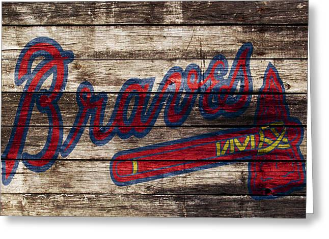 The Atlanta Braves 1w Greeting Card by Brian Reaves
