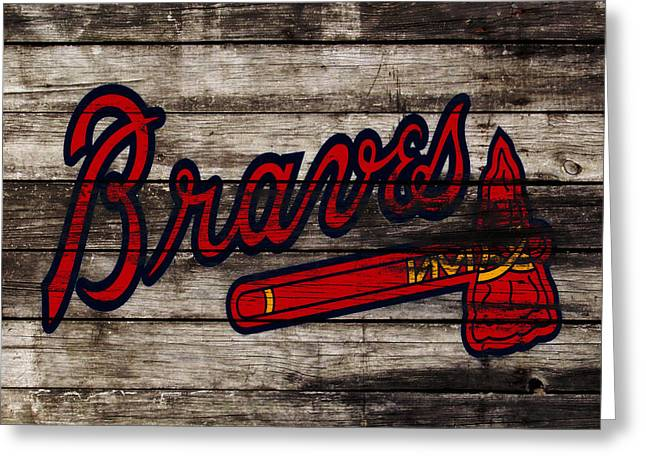 The Atlanta Braves 3h    Greeting Card