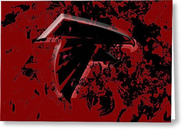 The Atlanta Falcons 1e Greeting Card by Brian Reaves