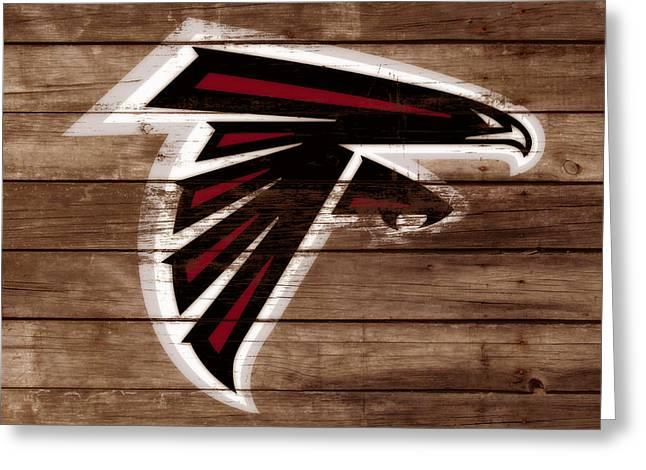 The Atlanta Falcons 3b Greeting Card