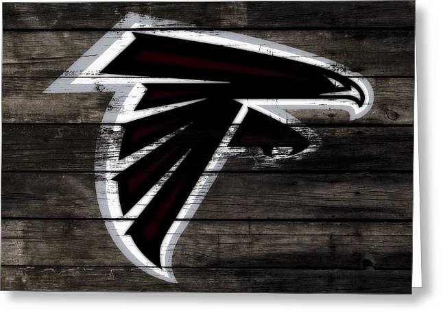 The Atlanta Falcons 3c Greeting Card