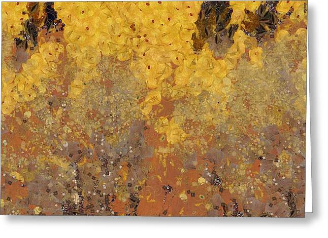 The Autumn Bounty Greeting Card by Dan Sproul