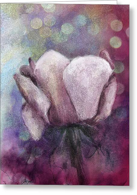 Greeting Card featuring the painting The Award by Annette Berglund