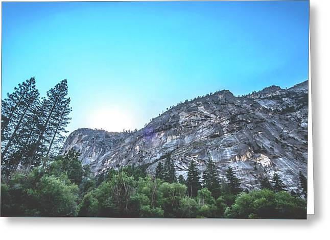 Greeting Card featuring the photograph The Awe- by JD Mims