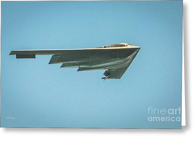 The B-2 Bomber Greeting Card