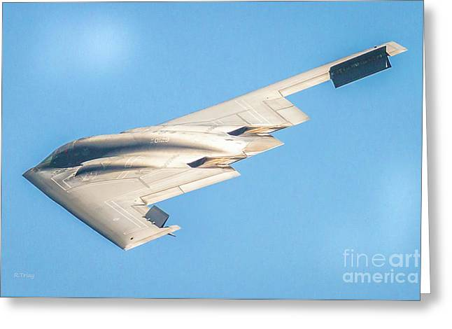 The B-2 Spirit Bomber By Northrop Grumman Greeting Card