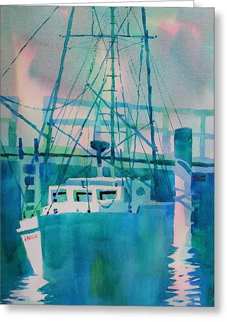 The B Phyllis At Fishermans Wharf Greeting Card
