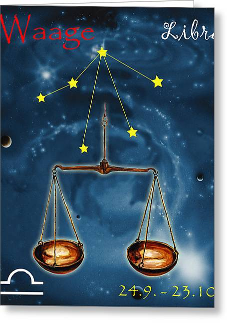 The Balance Of The Universe Greeting Card