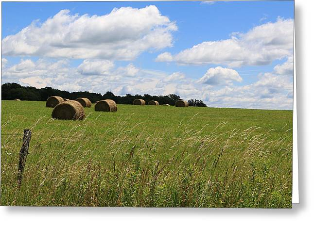 The Bales Of Summer 2 Greeting Card