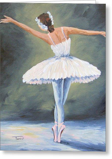 The Ballerina IIi Greeting Card