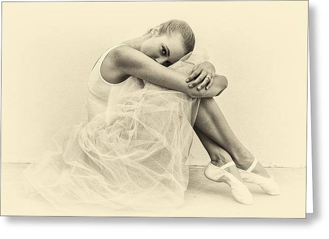 Le' Ballerina Greeting Card by Swank Photography